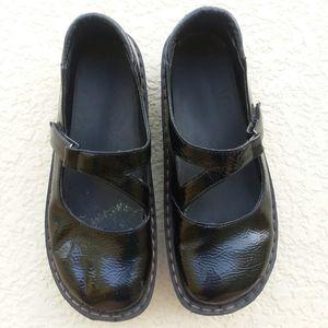 ALEGRIA Black Patent Leather Mary Jane